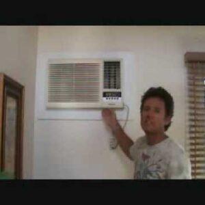 Wall mounted AC unit replace
